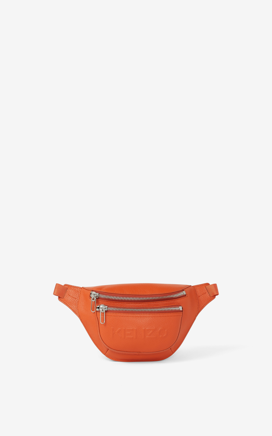 Kenzo Imprint Grained Leather Bumbag