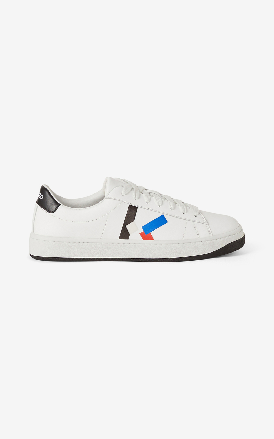 Kenzo Kourt Lace Up Sneakers In Bleu Roi