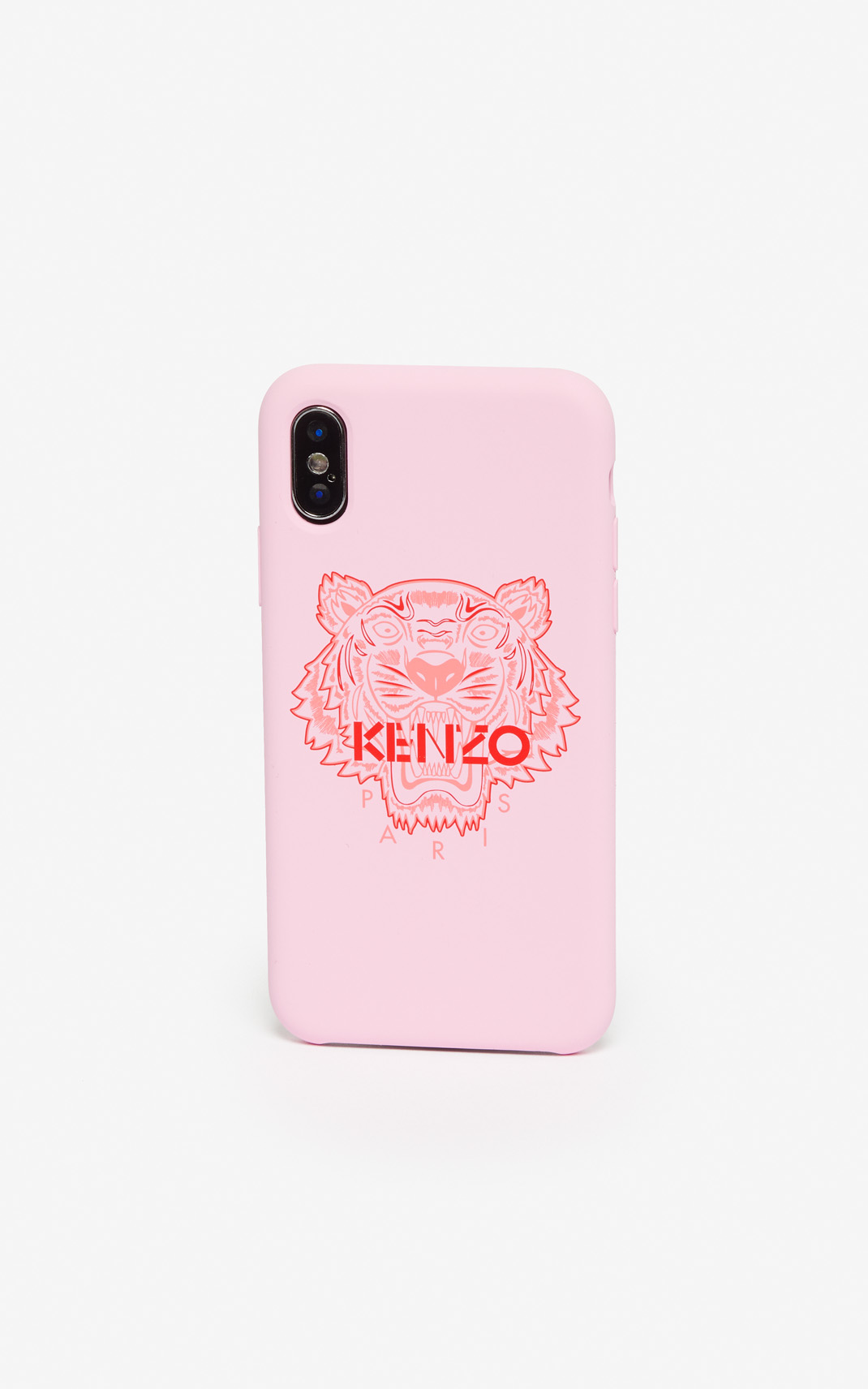 Kenzo Iphone X/Xs Tiger Case In Rosa