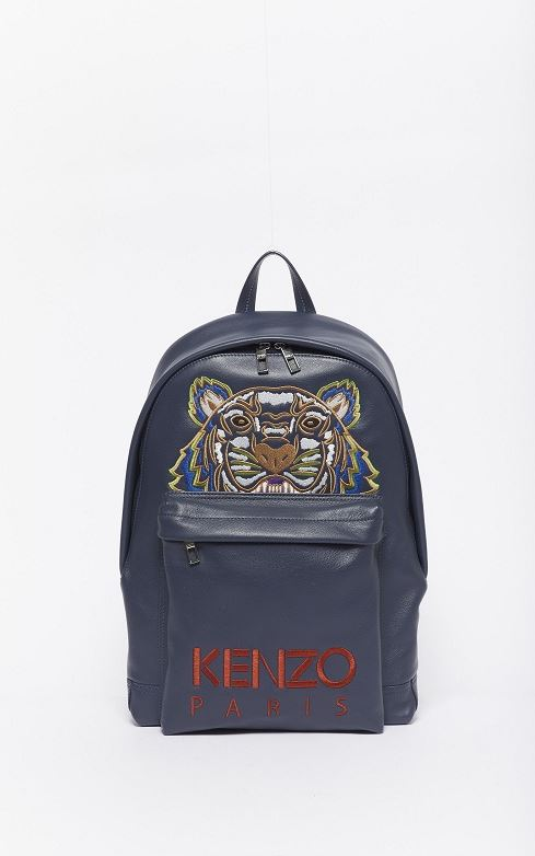 Kenzo Tiger Leather Backpack